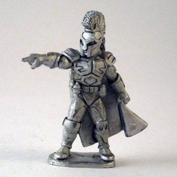 Dr. E-Vil - Spartan head