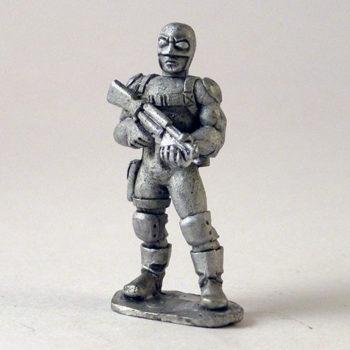 Paramilitary Goon Guard – I.R.S. Agent Head