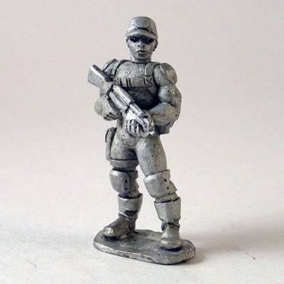 Paramilitary Goon Guard - Ball Cap head