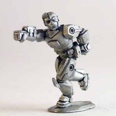 Hoplite – Cyborg head