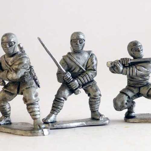 Ninjas - On the Attack
