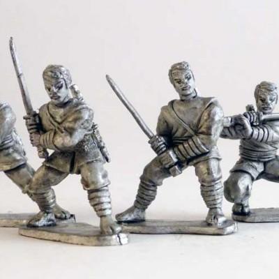 Ninjas - Asian heads