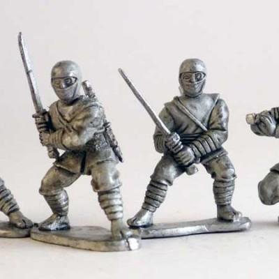 Ninjas - Ninja Cowl heads