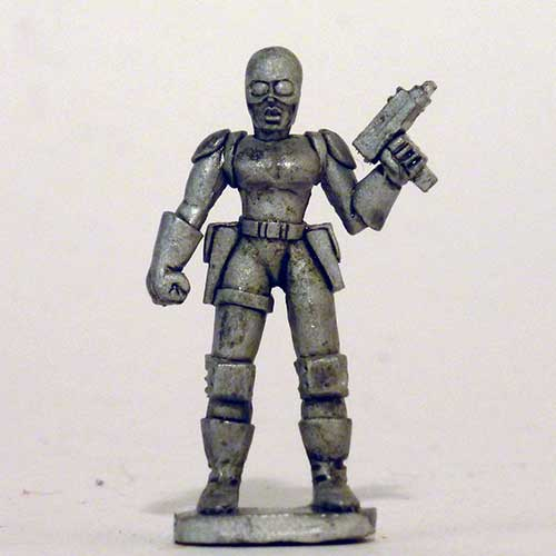 Female Paramilitary Goon - Female I.R.S. Agent head