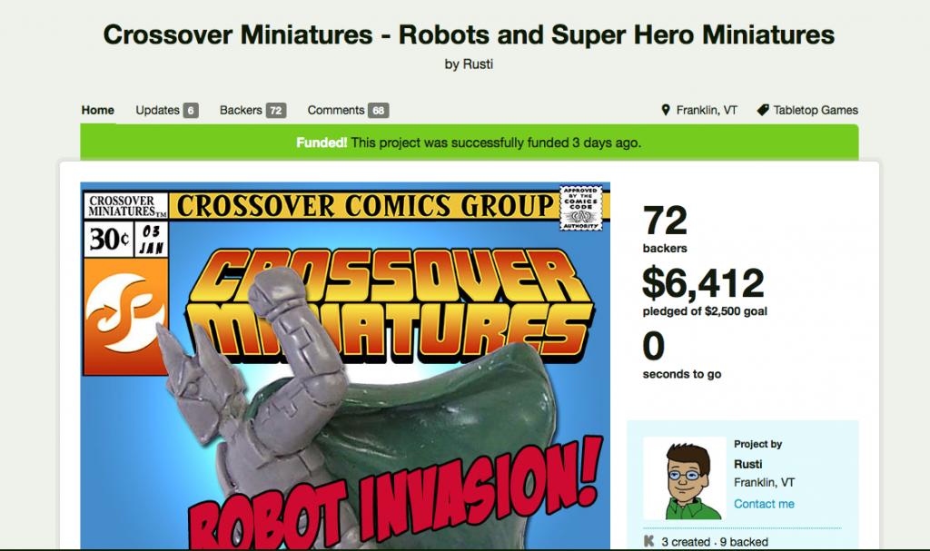 Kickstarter Success