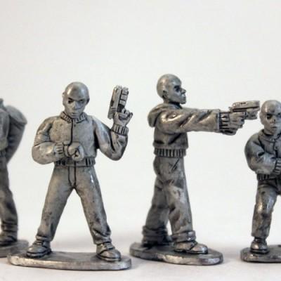 Thugs on Bank Job - Skin heads