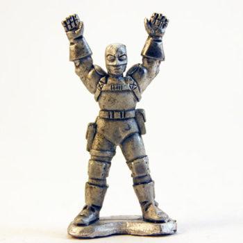 Paramilitary Goon Surrendering - I.R.S. head