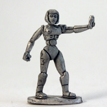 Robo-Girl - Page Girl head
