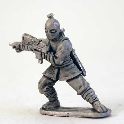 Ninja Boss with Gun - Bugeye head
