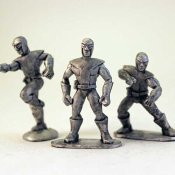 Super Team - Human Team heads