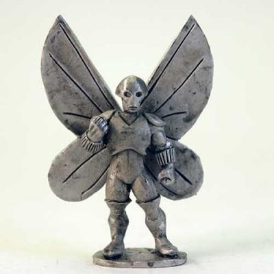 Emporer Moth - Alien Bug head