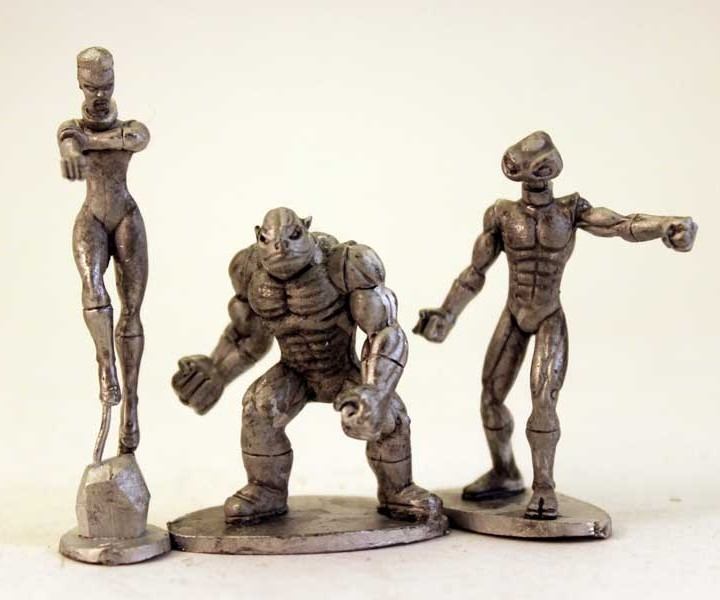 Viridian Guardians - Alien-1 head set