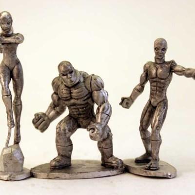 Viridian Guardians - Human head set