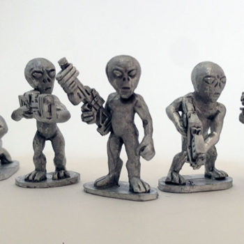 Grey Alien Troops 1