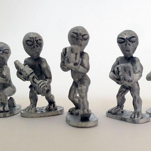 Grey Alien Troops 2