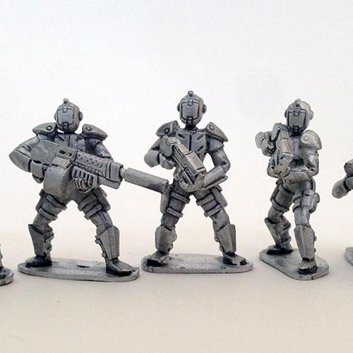UFO Squad Troopers 2 - Females