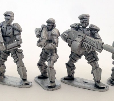 UFO Squad Troopers 2 - Females with Berrets