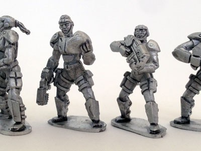 UFO Squad Troopers 2 - Females with Head-Gear