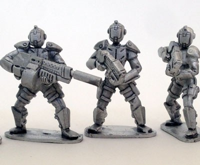 UFO Squad Troopers 2 - Females with Helmets