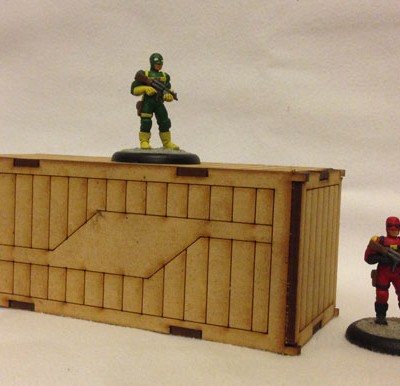 Shipping Container Scale - Figures not included