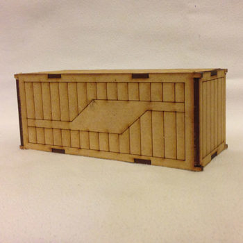 Single Shipping Container