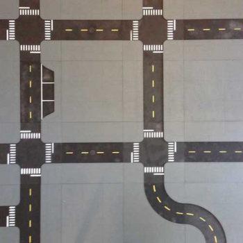 12x12 Modular City Tiles